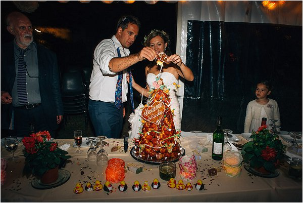wedding croquembouche