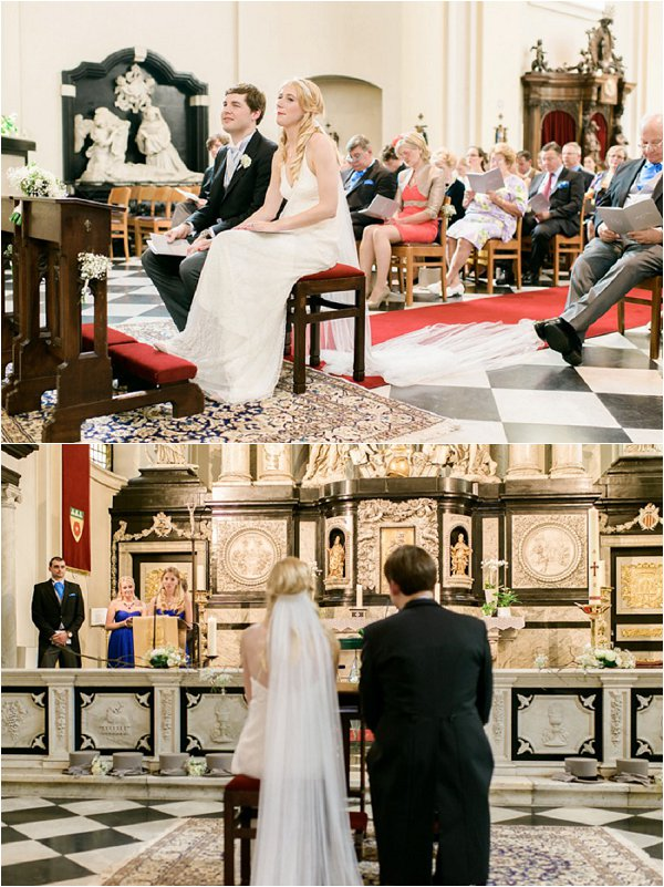 wedding in a church