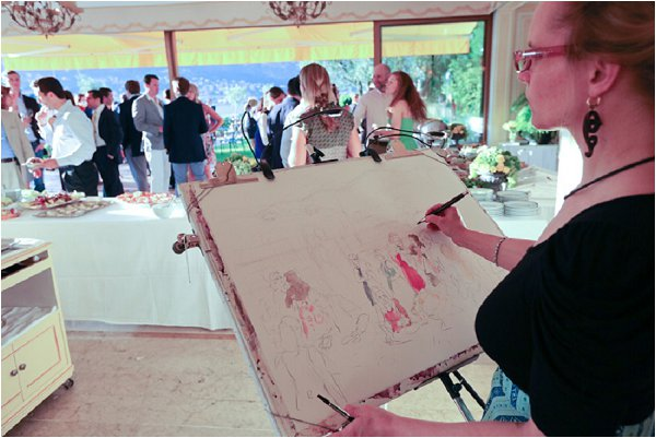 wedding painting