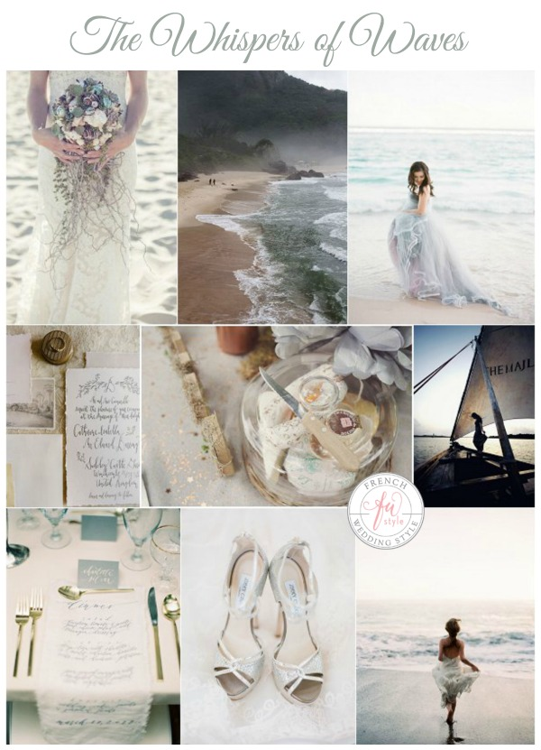 whispers of waves wedding ideas