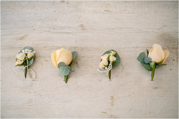 yellow buttonholes