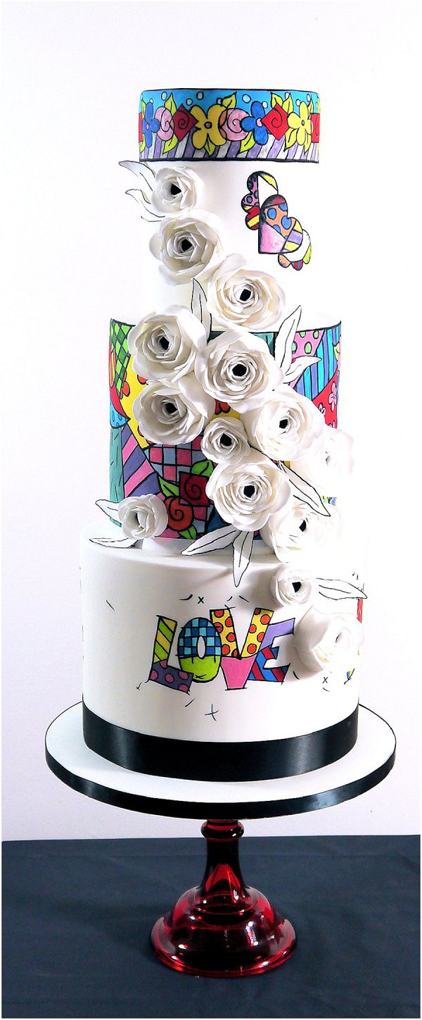 2015 wedding cake Collection 1_Live Laugh Love