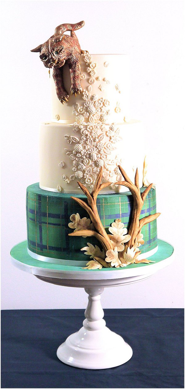 2015 wedding cake  Collection 3_Scottish Punk
