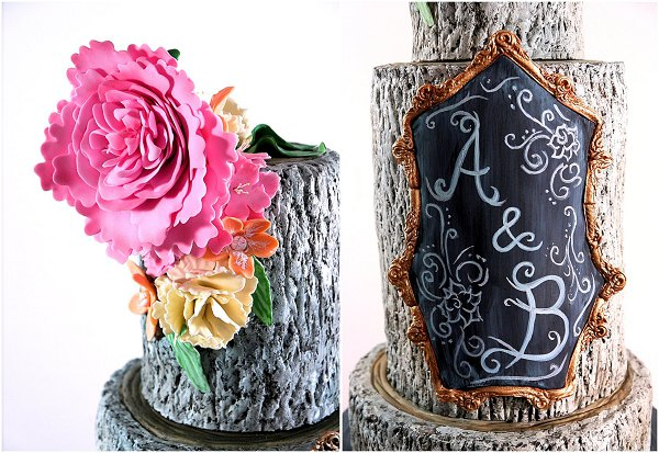 2015 wedding cake Collection 4_Rustic Chalk b