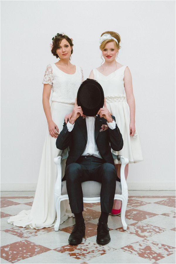 faceless groom