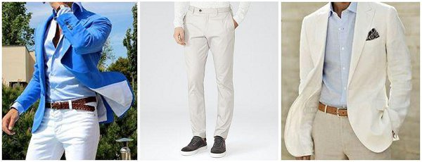 Grooms wear for summer weddings