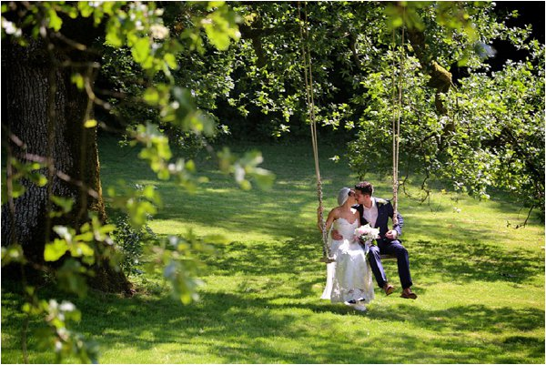 personalised wedding swing
