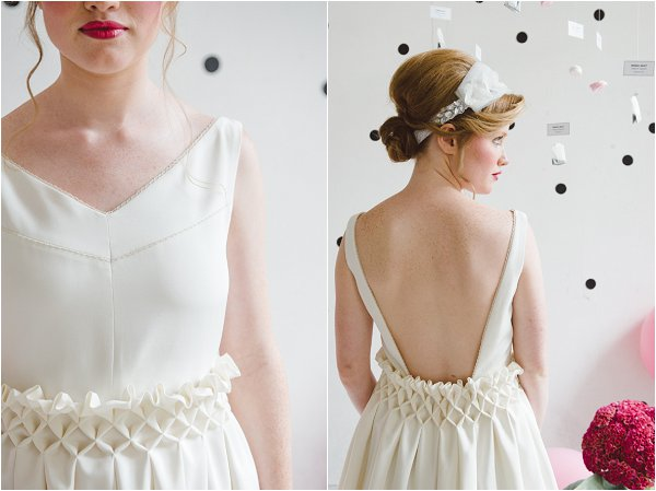 short french wedding dress