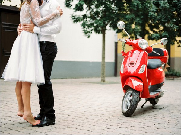 vespa honeymoon