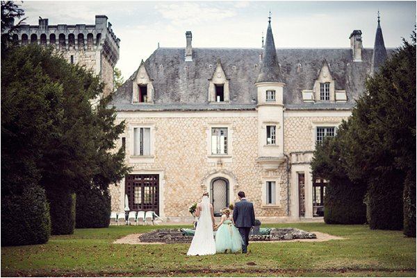 wedding at Chateau de la Couronne