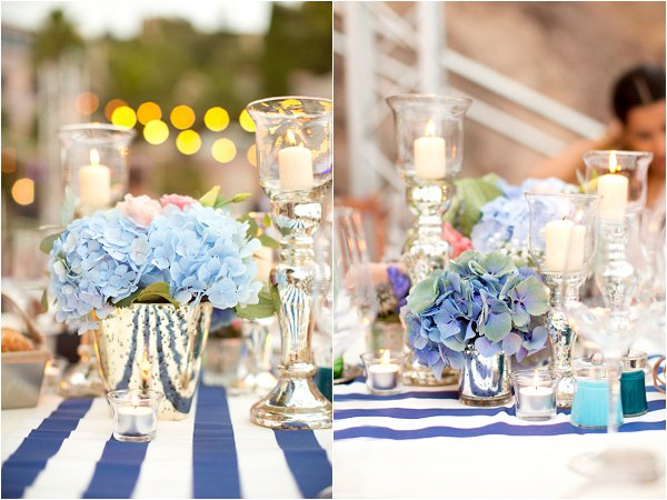 French Riviera wedding decor