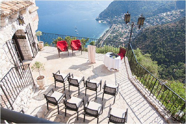 This Stunning Venue Is Based In Eze A Commune The Alpes Maritimes Department Southeastern France 400 Year Old Chateau Overlooking