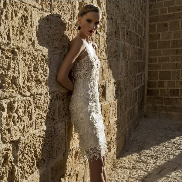 Galia Lahav short dress