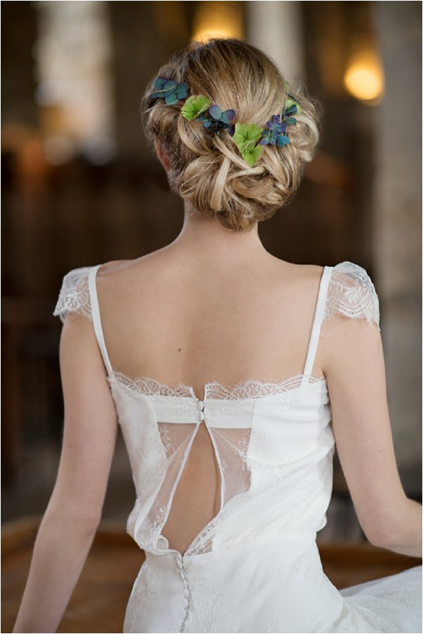 back detailing wedding dress