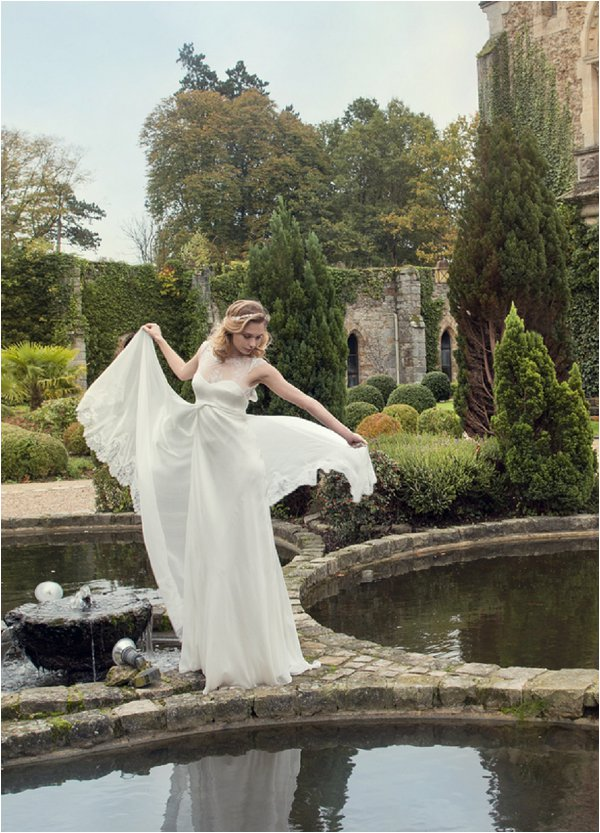 fairytale romantic wedding dress