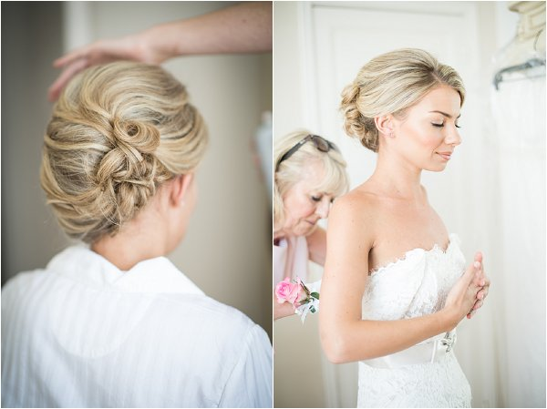 luxury bridal preparations
