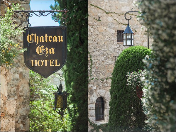 wedding at Chateau Eza