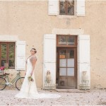 wedding at chateau de lartigolle