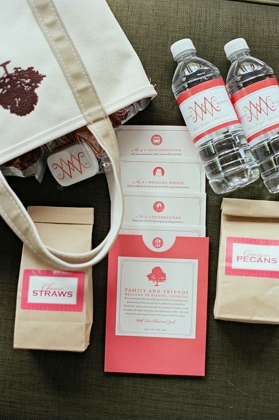 wedding guest welcome packs