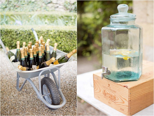 Alcohol wedding ideas