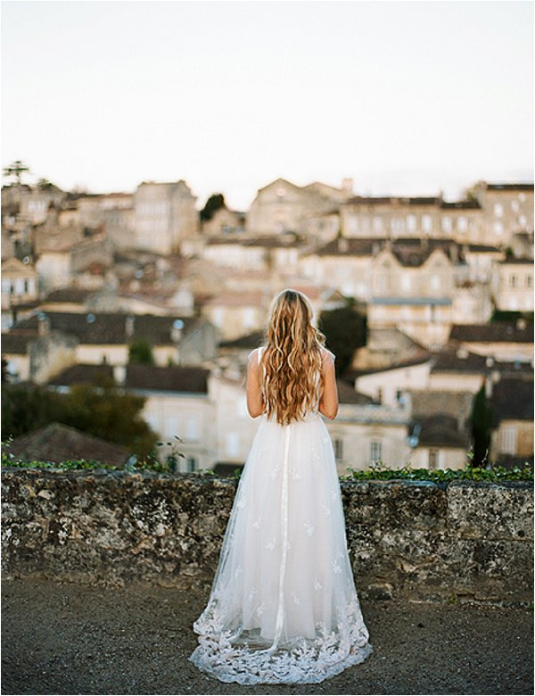 French wedding dress