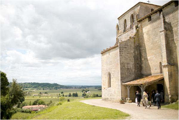 rural wedding in France