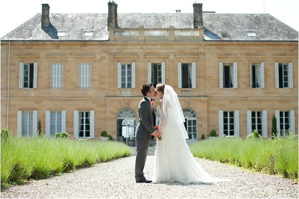 wedding at Chateau Durantie
