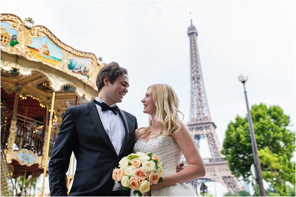 wedding day in Paris
