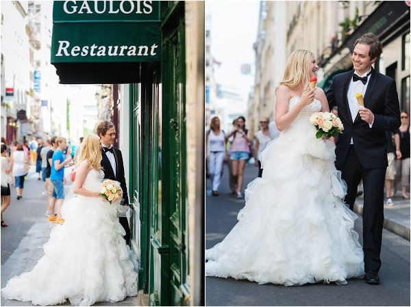 wedding tour around Paris