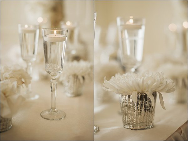 DIY chic wedding decorations