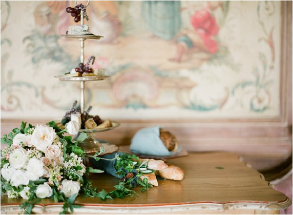 French country wedding_flowers