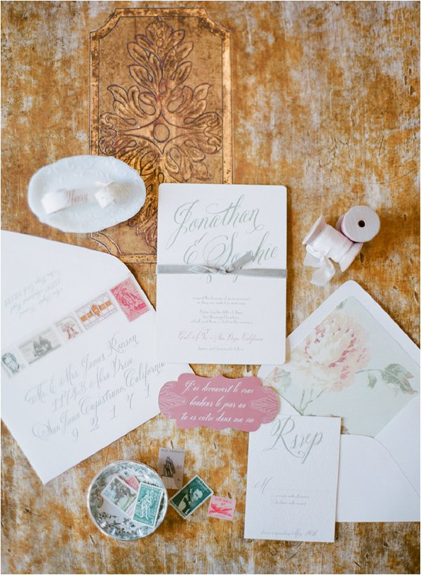 French country wedding_invites