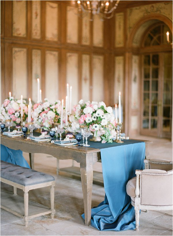 French country wedding_table