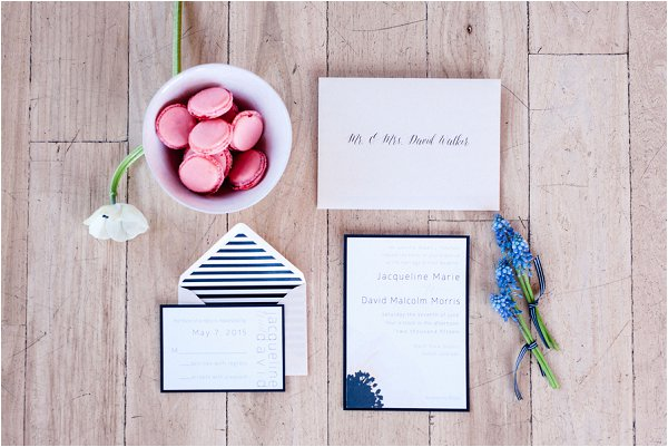 Parisian themed stationery