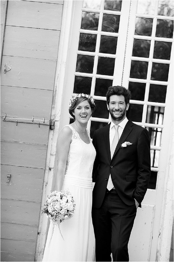 classic black and white wedding