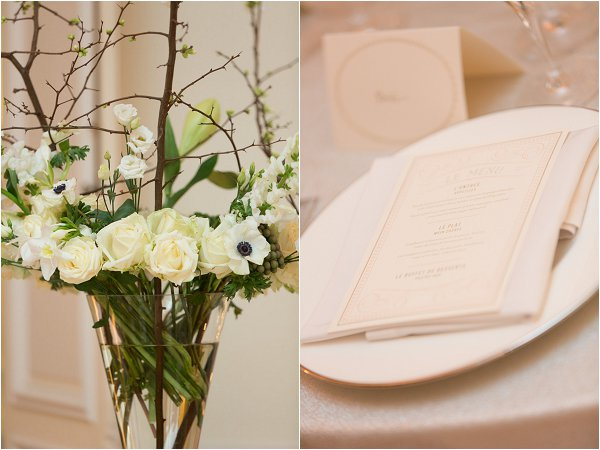 cream and white wedding ideas