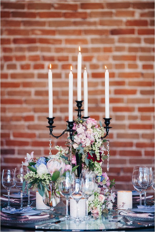 elegant wedding table design