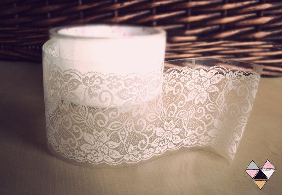 lace washi tape