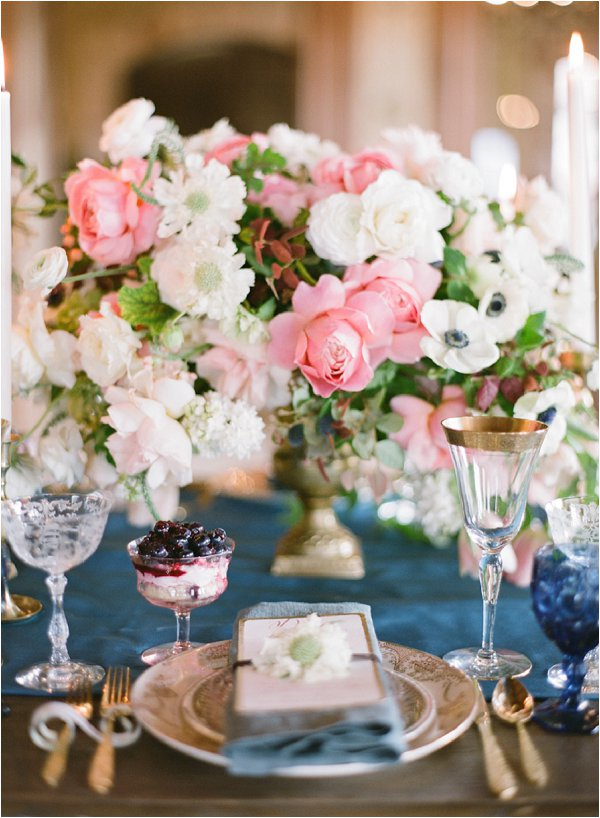 luxury wedding table styling