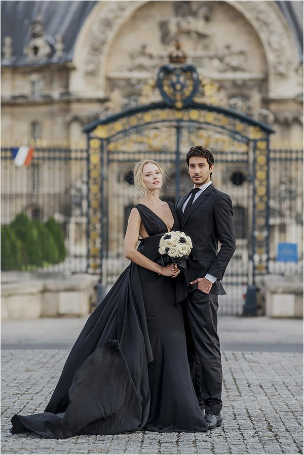 wedding fashion in Paris
