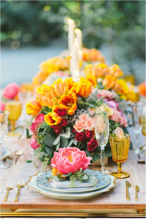 Bright spring wedding ideas junglespirit Image collections
