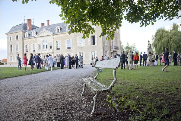 Chateau wedding in France