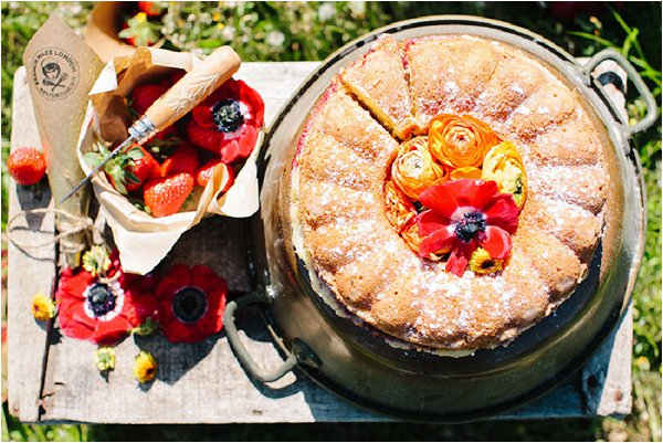 French summer cake