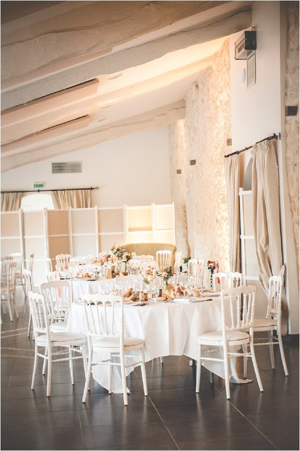 elegant wedding reception design