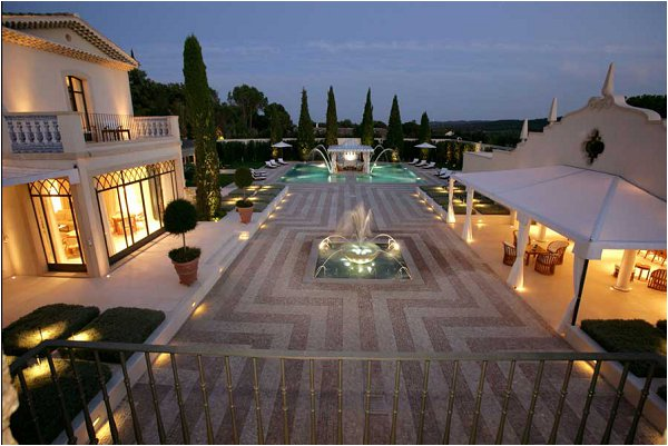 event villa on the French Riviera