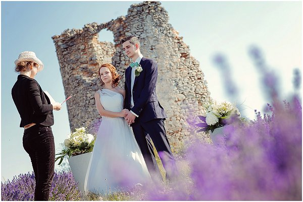 plan a wedding blessing in France