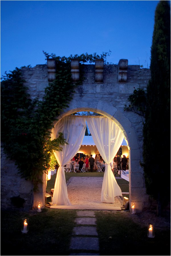 romantic wedding venue France