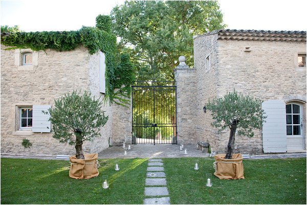 rustic wedding venue French Riviera