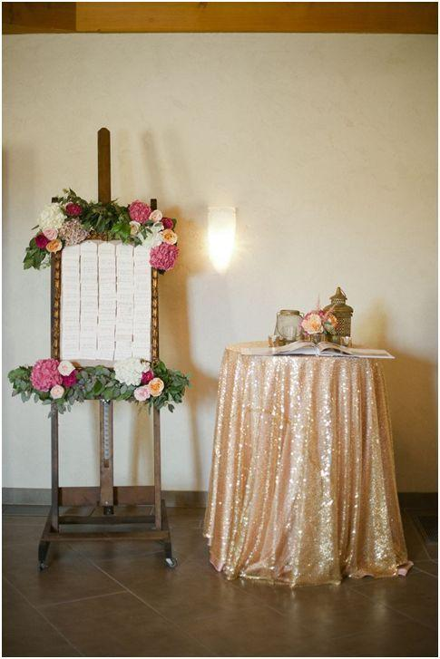 sequine tablecloths