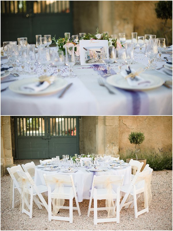 summer wedding table ides